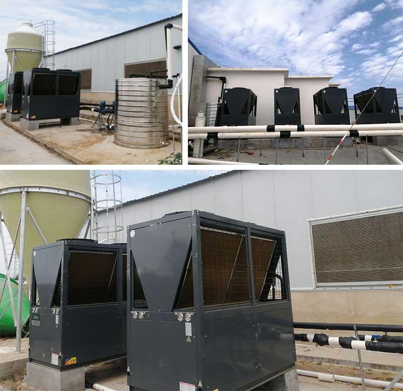 热水器空气能淋浴工程案例